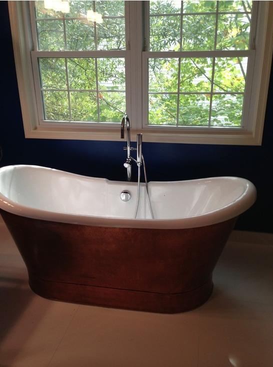 Gainsville, VA Copper Freestanding Bath Tub - Century Bathrooms