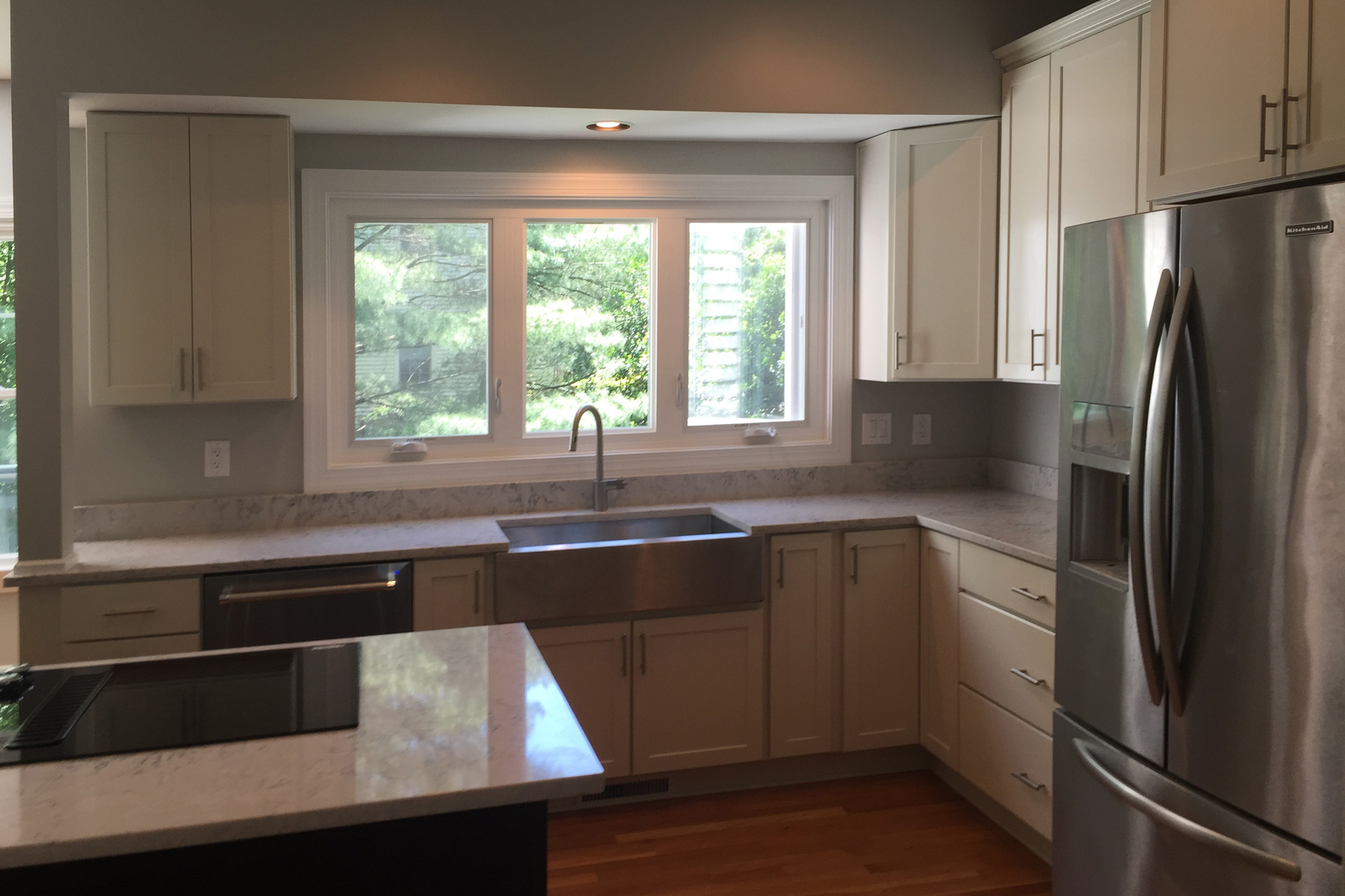limestone galleries our remodels countertops silestone capri remodel bellingham rose job after kitchen construction of