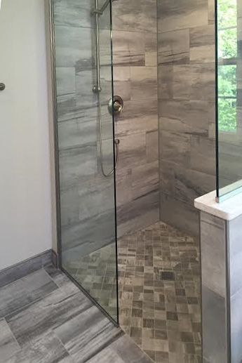 Barrier Free Showers Without A Shower Door